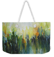 Weekender Tote Bag featuring the painting Morning Light by Elena Oleniuc