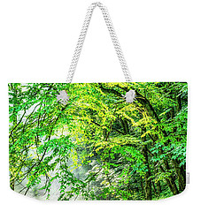 Morning Light In The Forest Weekender Tote Bag