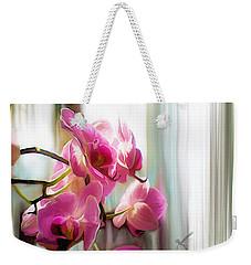Morning Light Orchids Weekender Tote Bag