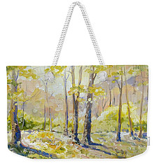 Morning Light - Spring Weekender Tote Bag by Irek Szelag