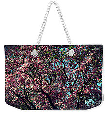 Morning Lit Magnolia Weekender Tote Bag
