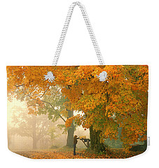 Morning Mail Cambridge Vermont Weekender Tote Bag