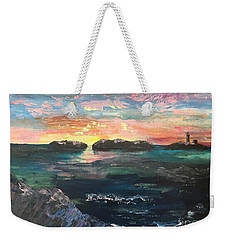 Morning Maine Weekender Tote Bag