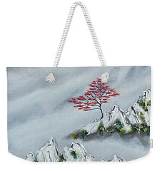 Morning Mist 3 Weekender Tote Bag