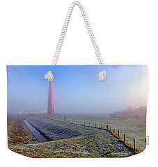 Morning Mist Weekender Tote Bag by Nadia Sanowar
