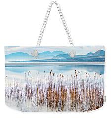 Morning Mist On The Lake Weekender Tote Bag