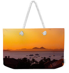 Weekender Tote Bag featuring the photograph Morning Mist by Scott Carruthers