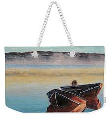 Morning Mist Weekender Tote Bag