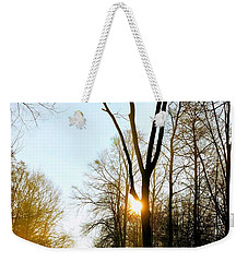 Morning Mood In The Forest Weekender Tote Bag
