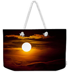 Morning Moonset Weekender Tote Bag