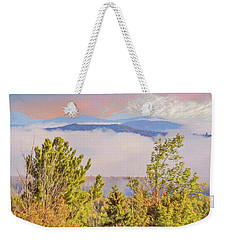 Morning Mountain View Northern New Hampshire. Weekender Tote Bag