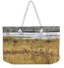 Morning Munch Weekender Tote Bag by I'ina Van Lawick