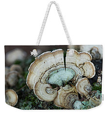 Morning Mushroom Weekender Tote Bag