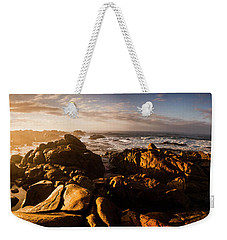 Weekender Tote Bag featuring the photograph Morning Ocean Panorama by Jorgo Photography - Wall Art Gallery