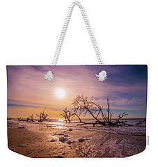 Morning On Boneyard Beach Weekender Tote Bag