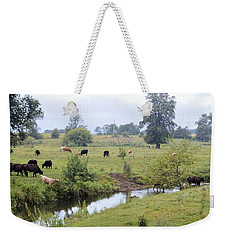Morning On Coldwater Weekender Tote Bag