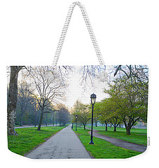 Weekender Tote Bag featuring the photograph Morning On Kelly Drive In The Spring by Bill Cannon