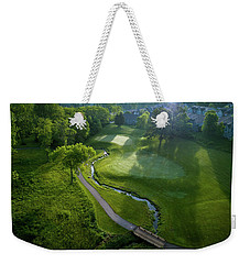 Morning On The 9th Weekender Tote Bag
