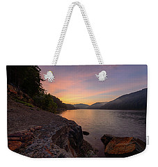Morning On The Bay Weekender Tote Bag