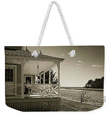Weekender Tote Bag featuring the photograph Morning On The Marsh by Samuel M Purvis III
