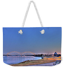 Morning On The Mississippi Weekender Tote Bag