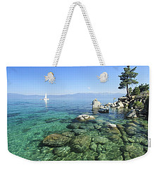 Weekender Tote Bag featuring the photograph Morning On The Water by Sean Sarsfield