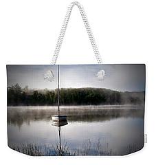 Morning On White Sand Lake Weekender Tote Bag by Lauren Radke