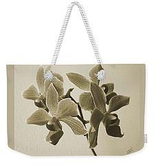 Morning Orchid Weekender Tote Bag