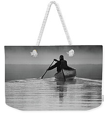Morning Paddle Weekender Tote Bag