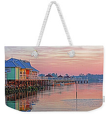 Morning Peace Weekender Tote Bag
