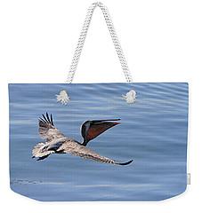 Morning Pelican Weekender Tote Bag