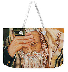 Morning Prayer Weekender Tote Bag