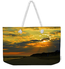 Morning Rays Over Cape Cod Weekender Tote Bag