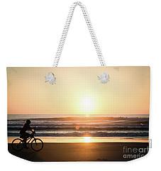 Morning Ride Weekender Tote Bag