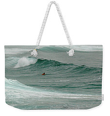 Morning Ride Weekender Tote Bag by Evelyn Tambour