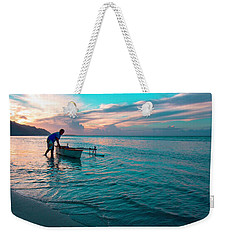 Morning Ritual Weekender Tote Bag