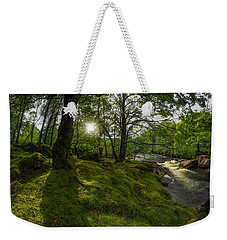 Morning River Sun Weekender Tote Bag by Ian Mitchell