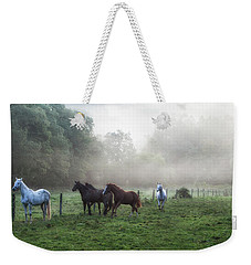 Morning Run Weekender Tote Bag