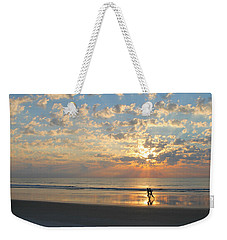 Morning Run Weekender Tote Bag