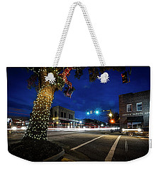 Morning Rush Hour In A Small Town Weekender Tote Bag