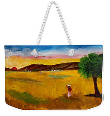 Morning Salute Weekender Tote Bag