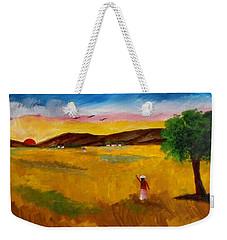 Morning Salute Weekender Tote Bag