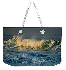 Morning Sea Spray Weekender Tote Bag