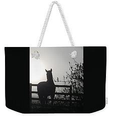 Morning Silhouette #1 Weekender Tote Bag