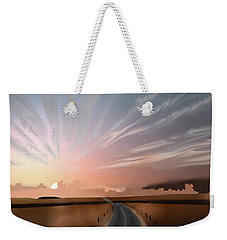 Morning Sky Weekender Tote Bag