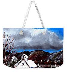 Morning Snow Ministry Weekender Tote Bag