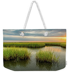 Weekender Tote Bag featuring the photograph Morning Star by Andy Crawford