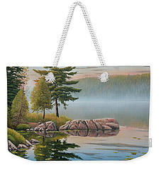 Morning Stillness Weekender Tote Bag