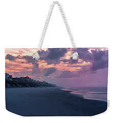 Morning Stroll On The Beach Weekender Tote Bag