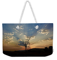 Morning Sun Rays Weekender Tote Bag